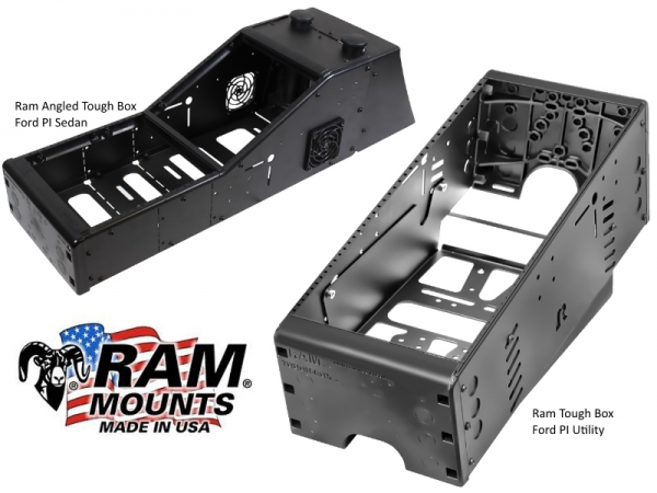 Ram Tough Box Consoles For Ford PI & Utility